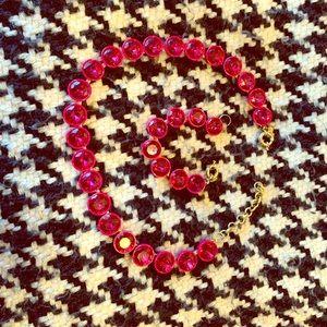 J Crew necklace and bracelet.